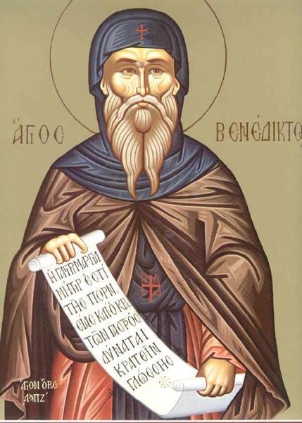 Sfantul Benedict