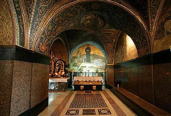 Biserica Sfantului Mormant - Capela de pe Golgota