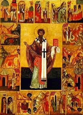 Sfantul Mucenic Ipatie, episcopul Gangrei