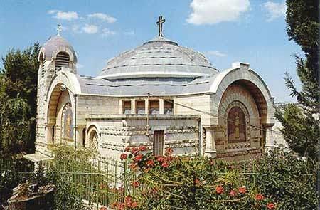 Gallicantu - Biserica Sfantul Petru din Ierusalim