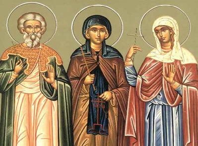 Sfintii Mucenici Agatopod si Teodul