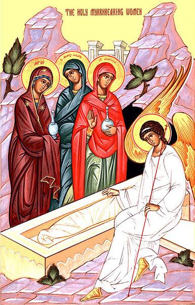 Femeile mironosite la mormantul Domnului
