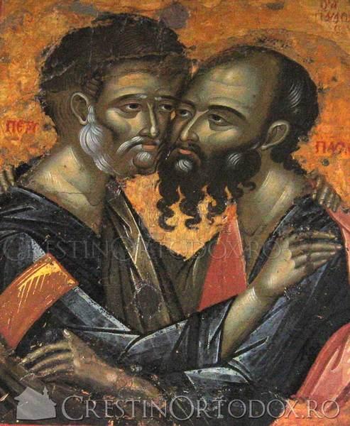 Manastirea Filoteu - Sfintii Apostoli Petru si Pavel