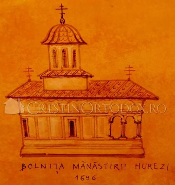 Bolnita din Manastirea Hurez - 1696