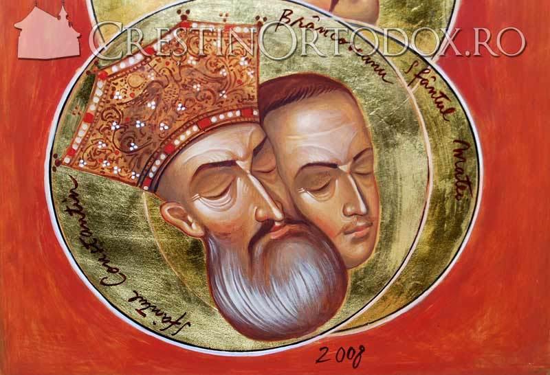 Capul Sfantului Constantin Brancoveanu