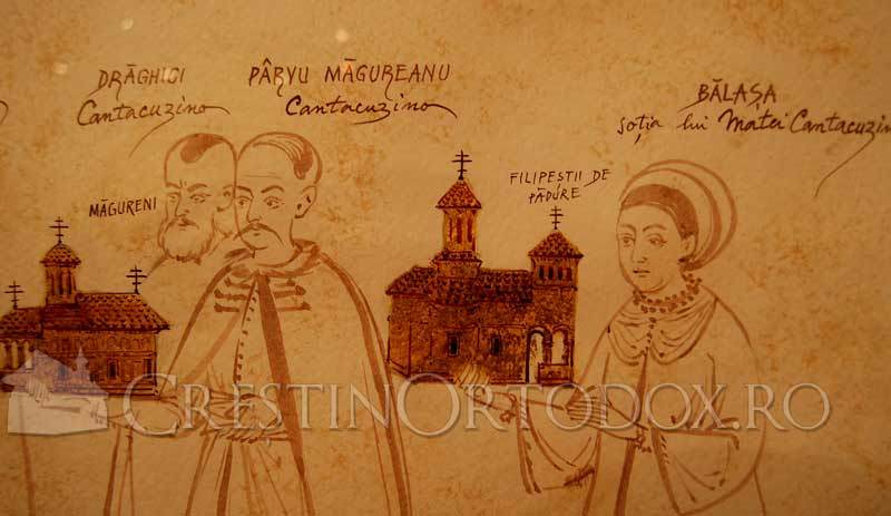 Cantacuzino - Familie domneasca de ctitori