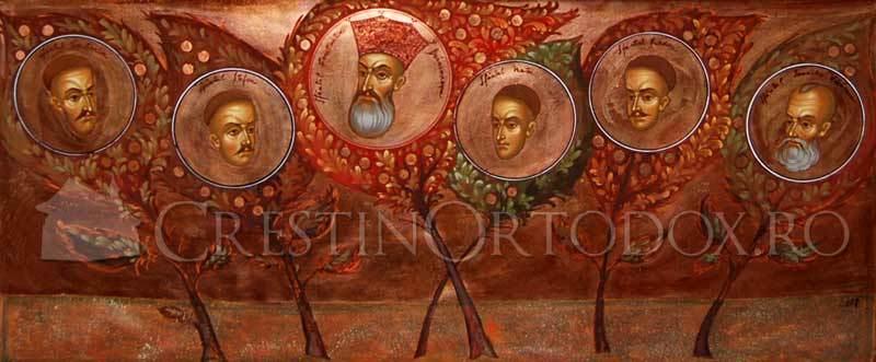 Livada duhovniceasca - Sfintii Brancoveni