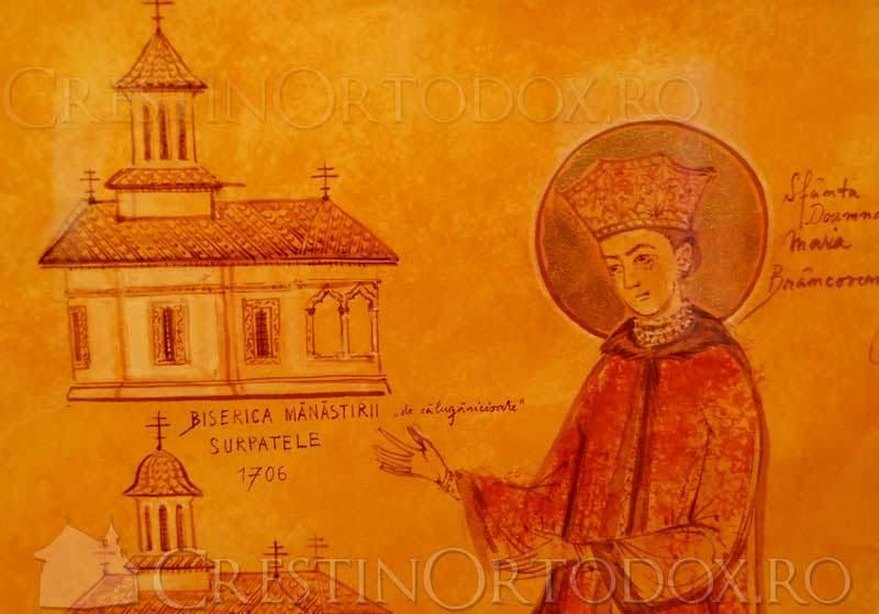 Manastirea Surpatele - Maria Brancoveanu