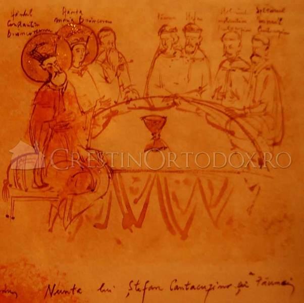Nunta lui Stefan Cantacuzino cu Pauna