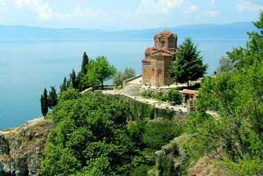 Biserica Kaneo din Ohrida - Sfantul Ioan Teologul