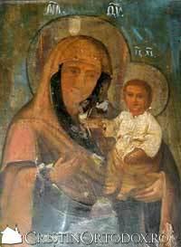 Icoana Maicii Domnului de la Manastirea Bisericani
