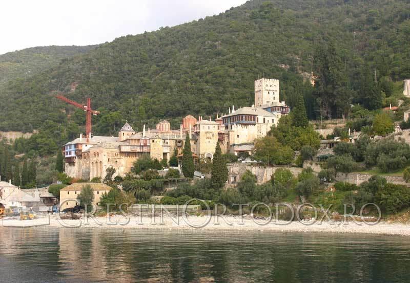 Sfantul Munte Athos - Manastirea Dochiariu