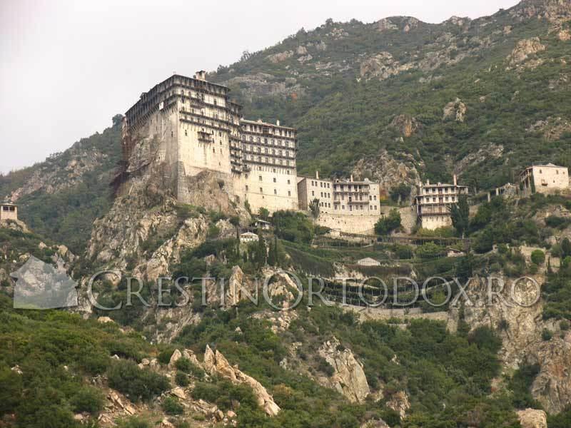 Manastirea Simono Petra - Sfantul Munte Athos