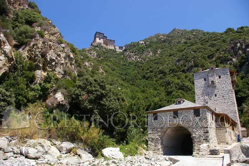 Sfantul Munte Athos - Manastirea Simonopetra