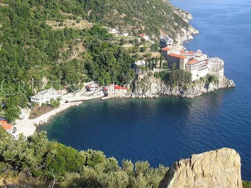 Manastire pe Sfantul Munte Athos