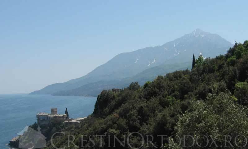 Manastirea Stavronikita - Sfantul Munte Athos