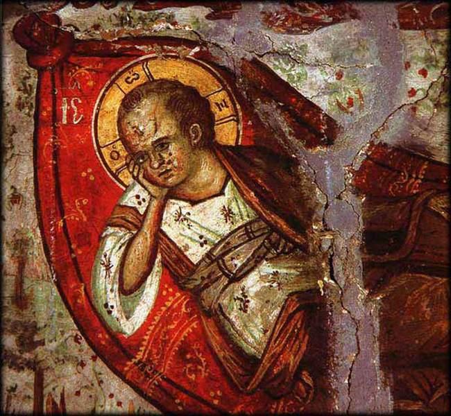 Somnul lui Iisus - Fresca dupa Dionisie de Furna