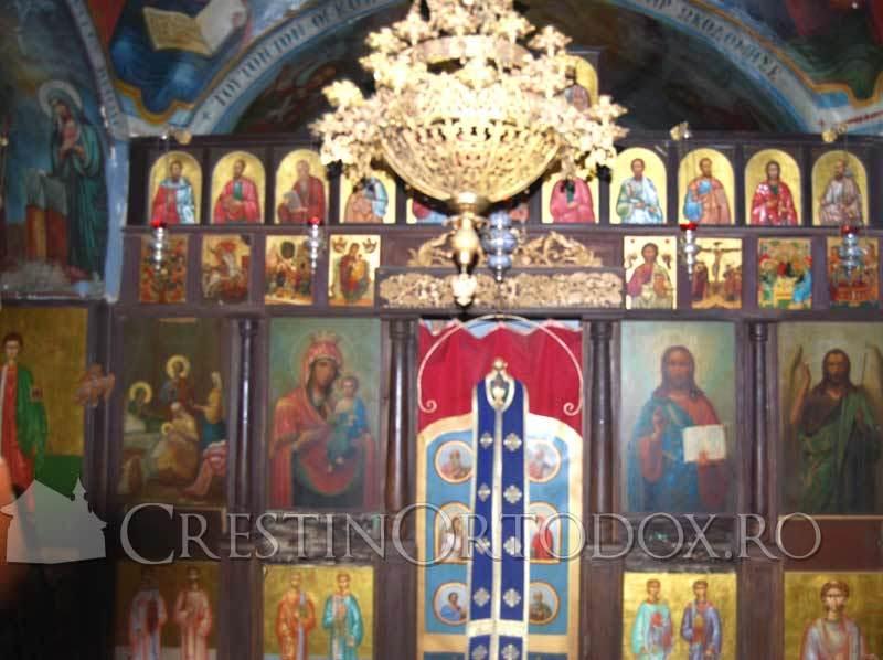 Manastirea Sfantul Gheorghe Hozevitul - Catapeteasma