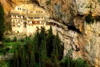 Manastirea Prodromu - Sfantul Ioan Botezatorul din Arcadia