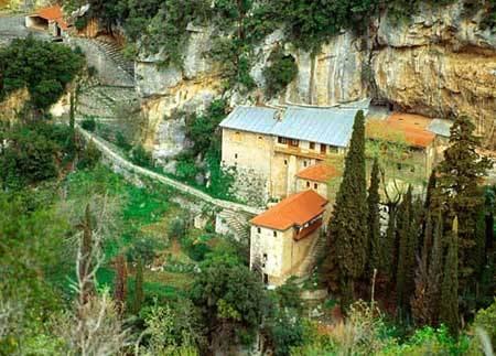 Manastirea Aimyalon - Arcadia
