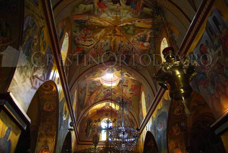 Muntele Tabor - Biserica Schimbarea la Fata
