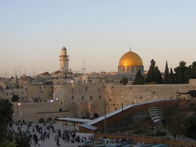 Ierusalimul, cetate sfanta