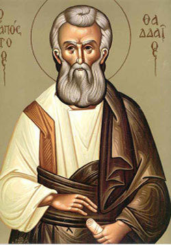 Sfantul Apostol Tadeu; Sfintii Mucenici Donat, Romul, Silvan si Venust