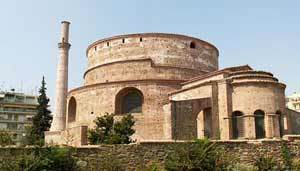 Biserica Rotonda din Tesalonic - Sfantul Gheorghe