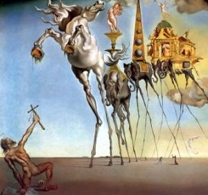 Salvador Dali si Ispitirea Sfantului Antonie cel Mare