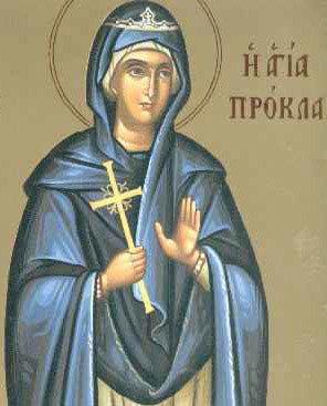 Sfanta Procla, sotia lui Pontiu Pilat