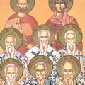 Sfintii Stahie, Amplie, Urban, Narcis si Apeles