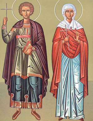 Sfintii Mucenici Galaction si Epistimi