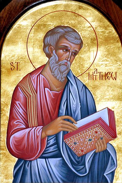 Sfantul Apostol si Evanghelist Matei