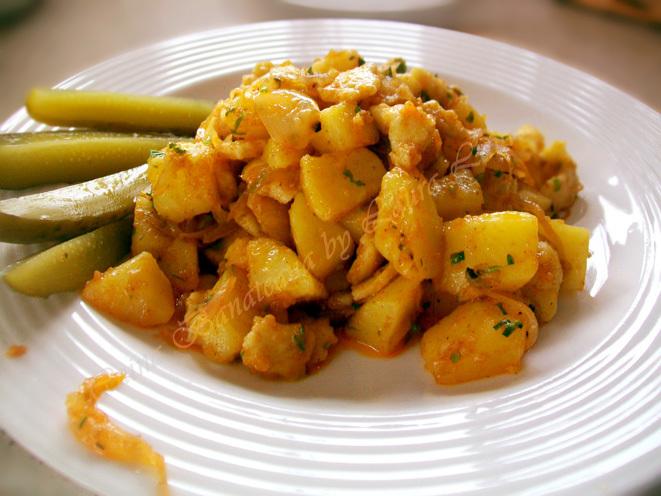Paturata pe cartofi - Crumpi