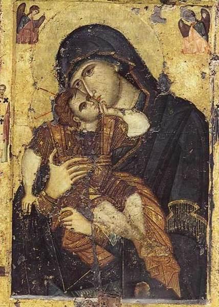 Icoana Maicii Domnului Dulce Iubitoarea - Filoteusa