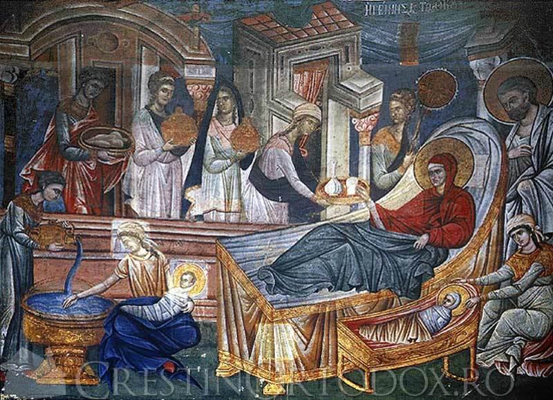 Manastirea Hilandar - Fresca