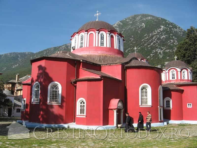 Marea Lavra din Athos - Biserica
