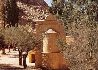 Capela Sfantul Trifon - Muntele Sinai