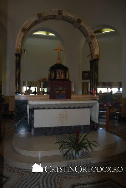 Biserica Fericirilor - Interior