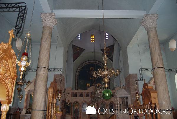 Manastirea Sfantul Teodosie - interior
