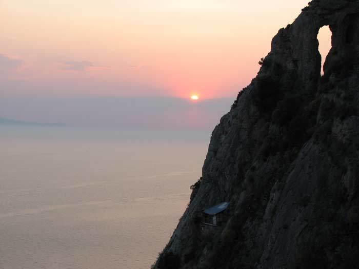 Karulia, pustia Muntelui Athos