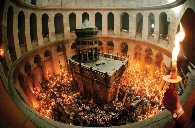 Invierea Domnului la Sfantul Mormant