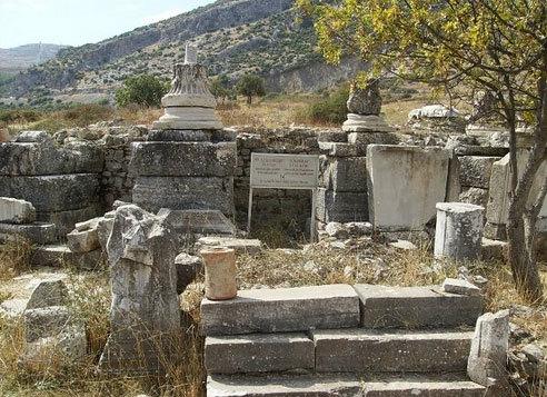 Mormantul Sfantului Apostol Luca este in Efes?