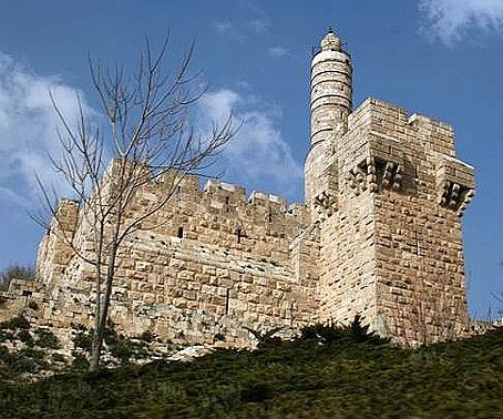 Cetatile de scapare, in Israel