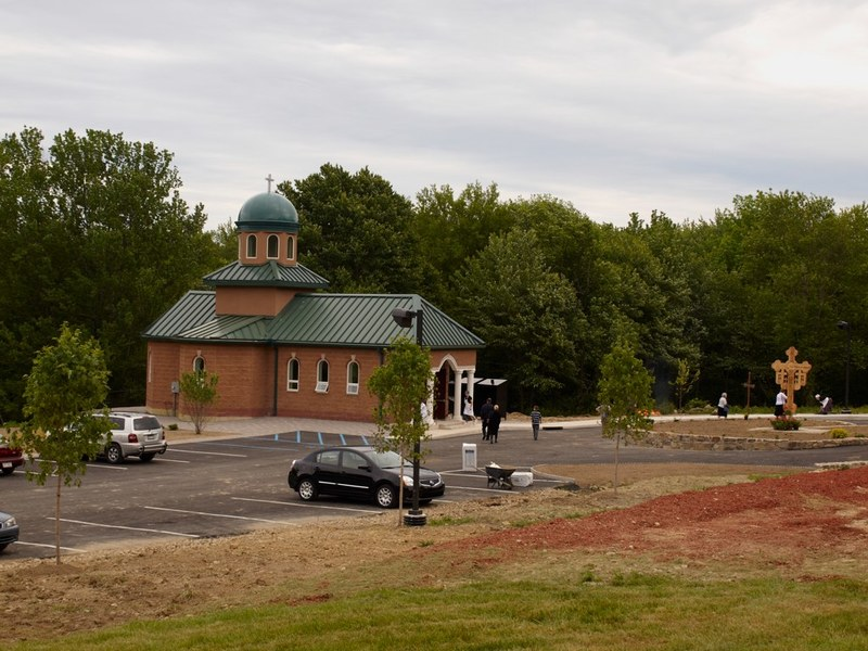Sfintirea bisericii Manastirii Sfantul Cuvios Dimitrie cel Nou din Middletown, New York