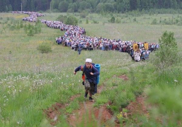 Procesiunea Velikoretsky, pasi pe calea credintei