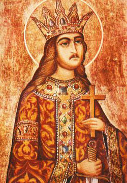 Stefan cel Mare al Moldovei trecut intre Sfinti