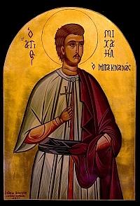 Sfantul Mihail Paknanas, gradinarul din Atena