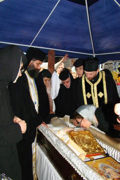Inmormantarea Parintelui Arsenie Papacioc
