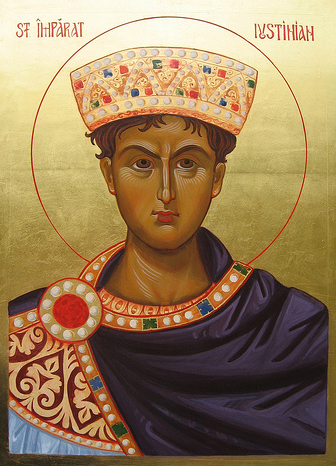 Sfantul Imparat Iustinian
